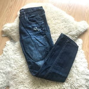 Vigoss The Thompson Double Roll Cuff Skinny Jeans